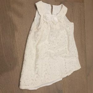 Carters 9 month white dress